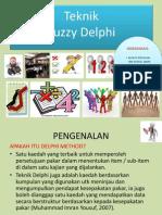 Teknik Fuzzy Delphi