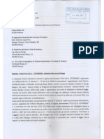Borgo Berga e violazioni di legge. Lettera di OUT al Comune di Vicenza, 13 agosto 2014