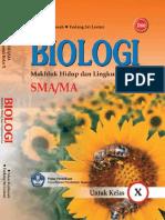 Biologi Makhluk Hidup Dan Lingkungannya SMA Kelas X-Idun Kistinnah-2009