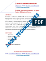 Design of a Hybrid PID Plus Fuzzy Controller for Speed Control of Induction Motor1