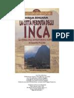 Bingham Hiram  -  La città perduta degli Inca.doc