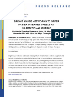 HSD Speed Increase - Indianapolis