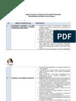 Mesa de trabajo para Propuestas de las 5 Lineas Estrategicas.doc