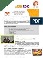 Vienna YouthForce Newsletter 1 Español