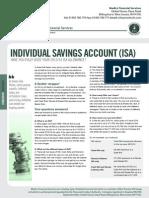 Individual Saving Account -  Medics Financial Services