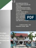 Pleno Evaluasi Program Puskesmas
