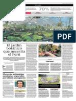 El Jardín Botánico Que Necesita El Perú