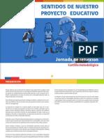 JORNADA DE REFLEXIÓN SENTIDOS DEL  PEI 2014.pdf