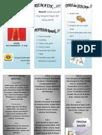 Leaflet Senam Rematik