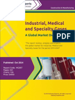 Industrial, Medical and Specialty Gases – A Global Market Overview