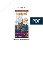 Imagineering Field Guide to Disneyland Index