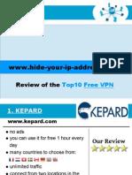 Top10 Free VPN