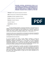Casación - alteraciòn de la condiciones de trabajo - caducidad.doc
