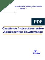 Cartilla de Datos de Adolescentes Ecuatorianos