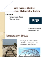 Lecture 7 Temperature Effects