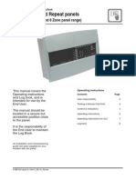 Conventional Panel Operating Instructions