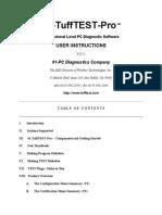 TuffTestPro Instructions and Documentation