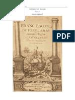 Bacon, F. - Novum Organum (1620).doc