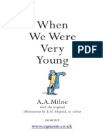 A.a Milne - When We Where Too Young