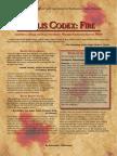 Teclis Codex 3 - Fire