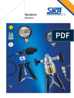 P 40.2 Pressure Calibrators