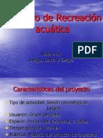 Proyecto de Recreación  acuática.ppt