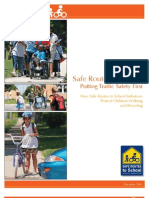 SRTS Traffic Safety First Report Final