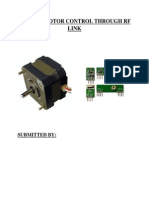 STEPPER MOTOR CONTROL THROUGH RF LINK.pdf