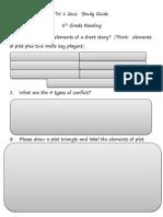tri 1 quiz study guide