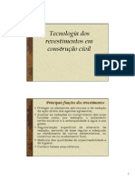 Aula. Argamassas - Tecnologia dos revestimentos em construção civil.pdf