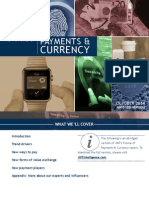 The Future of Payments and Currency