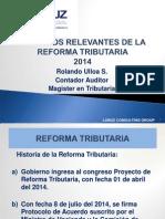 CHARLA REFORMA TRIBUTARIA 2014.ppt