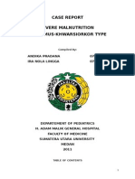 Severe Malnutrition Case Report