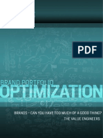 Brand Portfolio Optimization