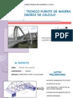 PUENTE DE MADERA - MEMORIA DE CALCULO.ppt