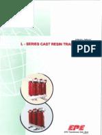 Epe Cast Resin Transformer Catalogue