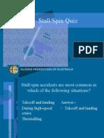 Stall Spin Quiz
