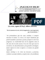 LA CRISIS PROF. ALBERT EINSTEIN.docx