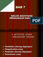 Bab-7 (Siklus Akuntansi Perusahaan Dagang)