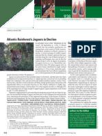 Jaguar conservation in Atlantic Forest