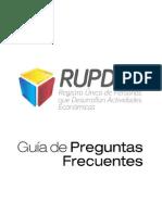 Preguuntas Frecuentes del RUPDAE.pdf