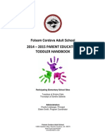 FCUSD Parent Ed. Handbook TODDLER 2014-15