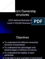 Different Ownership structures.ppt