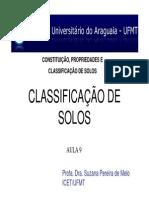 9 - CLASSIFICAÇÃO DE SOLOS - BASES E CRITÉRIOS.pdf
