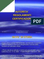 Autorita', Regolamenti, Certificazioni Rev.2 (2) Primo