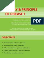 Topic 1 - Theory & Principle of Disease