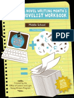 middle school nanowrimo workbook