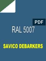RAL 5007 - Brilliant Blue