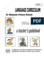 KSSR English Year 1 Guidebook