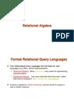 Relational Algebra Class2 Part 1